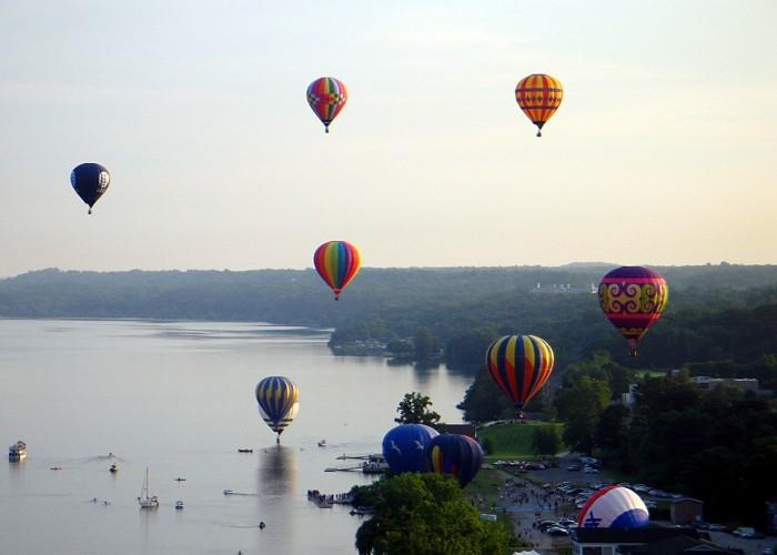 7. Dutchess County Balloon Festival