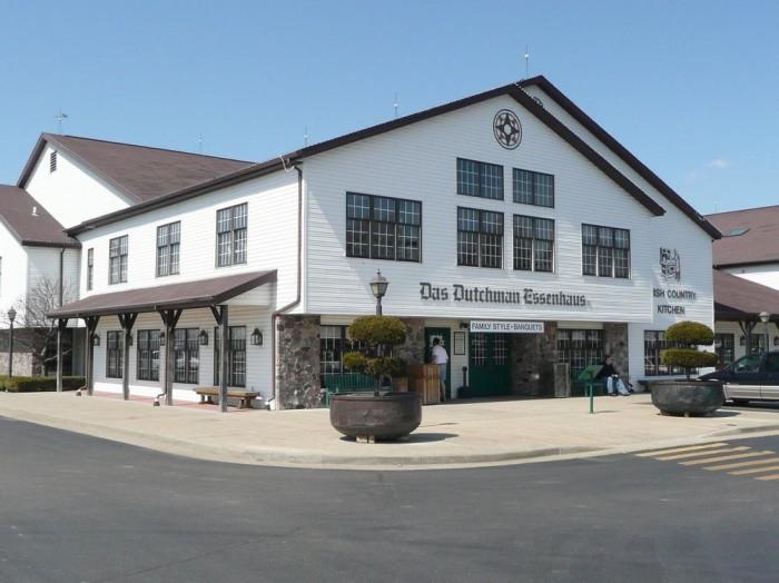 3. Das Dutchman Essenhaus (Middlebury)