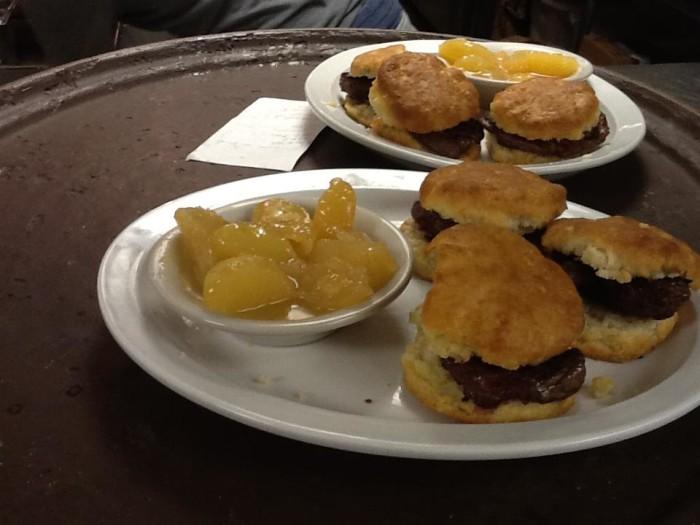 Earl G Dumplin's food.