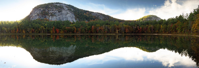 11. Echo Lake and Cathedral Ledge, Conway