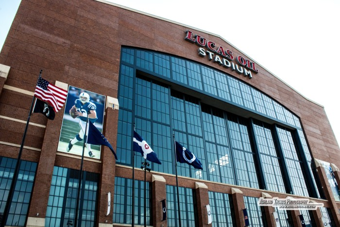 2. Remember that time you took your whole family by Lucas Oil stadium just to see how awesome it looks?