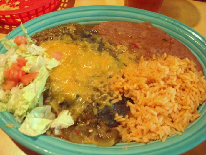 4. Enchiladas