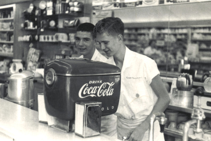8. Coca-Cola is the most popular and biggest selling soft drink in history.