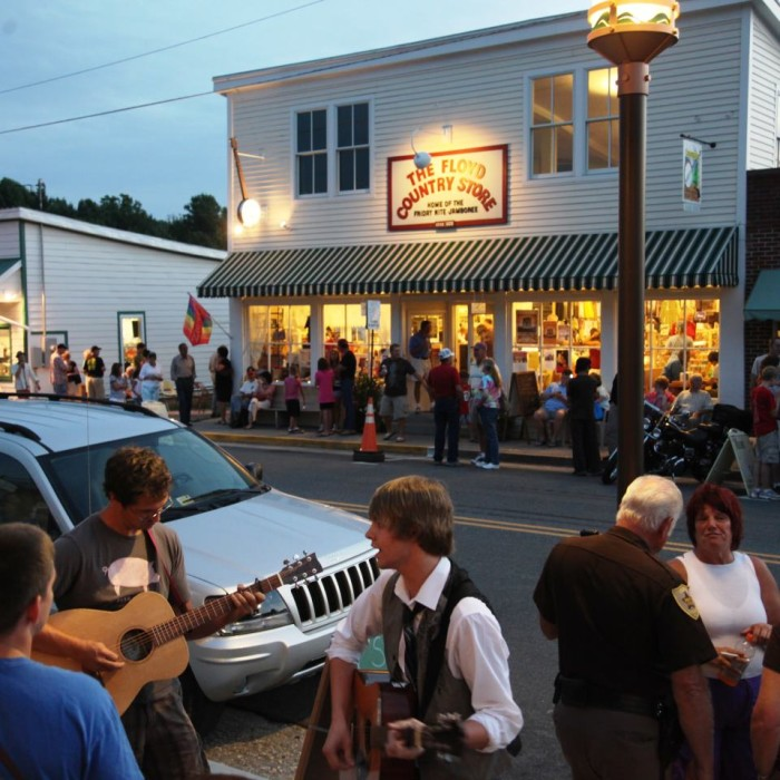 8. The Floyd Country Store & County Sales, Floyd