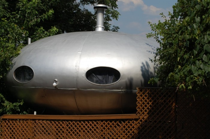 6. Flying saucer in Covington