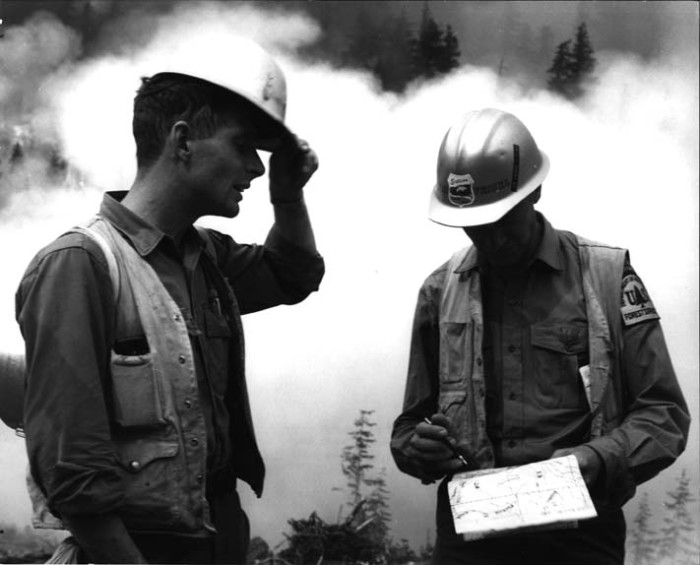 5. Foresters at Buck Mountain, 1967.