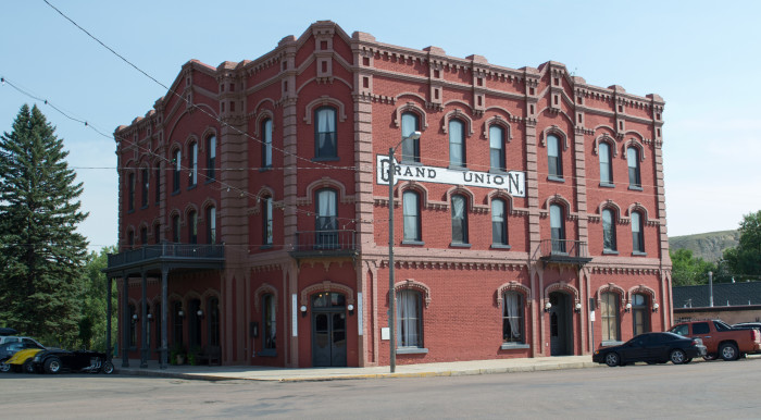 4. The Grand Union Hotel, Fort Benton