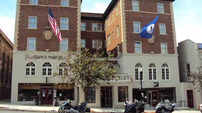 6. The Speakeasy at the General Francis Marion Hotel, Marion
