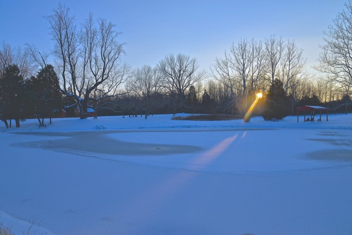 2. Frozen sunrise