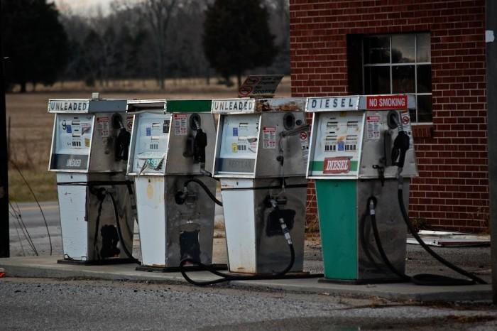 13. Gas pumps