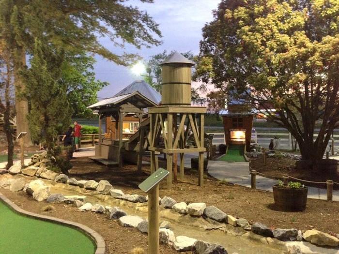 Go-Karts Plus mini golf