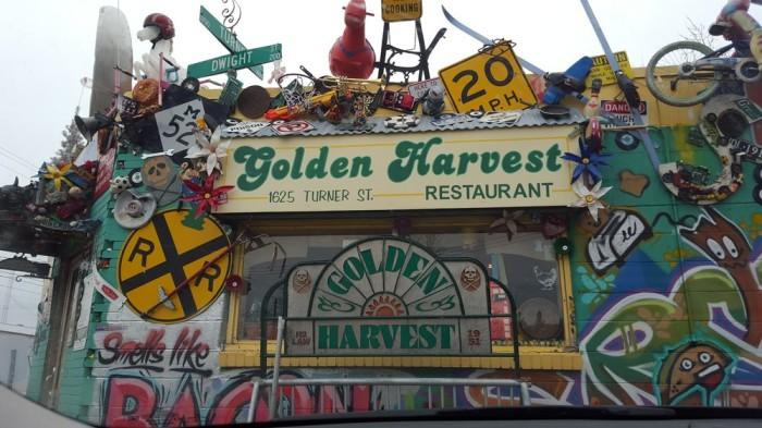 5) Golden Harvest Restaurant, Lansing
