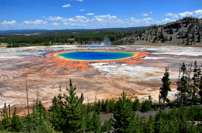 3. Grand Prismatic Spring, Yellowstone National Park