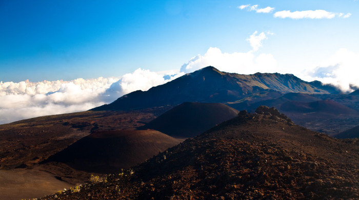 Haleakala National Park covers an area of approximately 33,200 acres, of which 19,200 acres are a wilderness area.