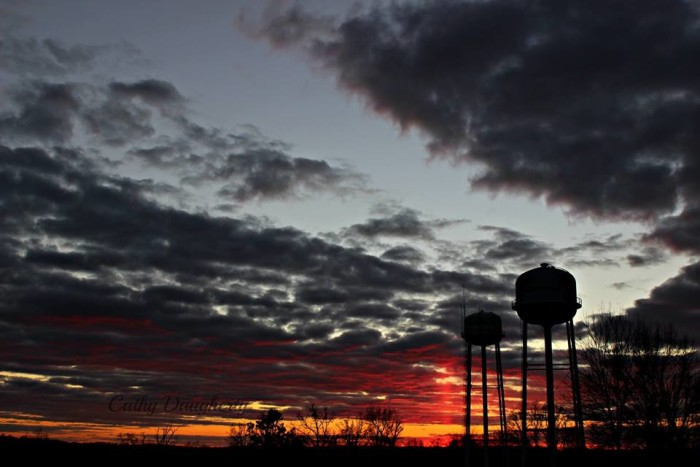 1. Hancock County sunrise