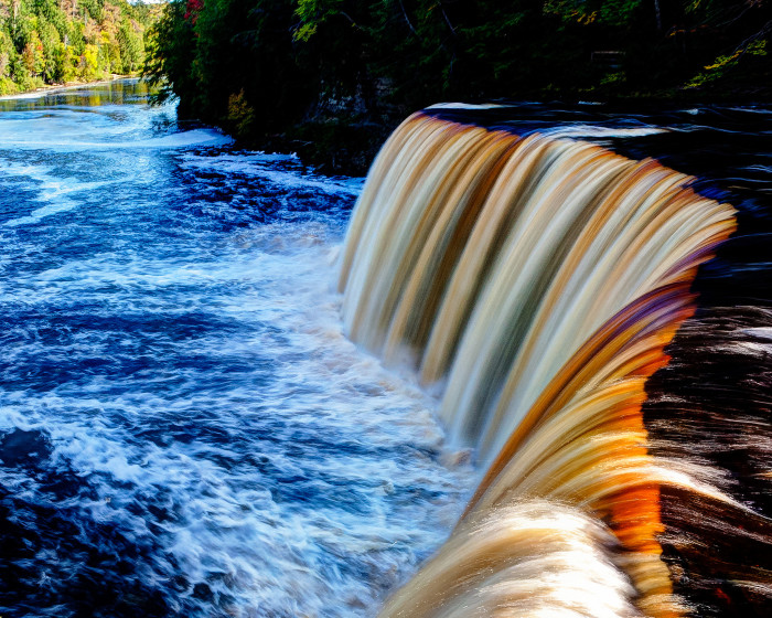 4. Getting to the falls, you'll take a drive along M-123, loop from M-28 through the town of Paradise and past Tahquamenon Falls State Park.