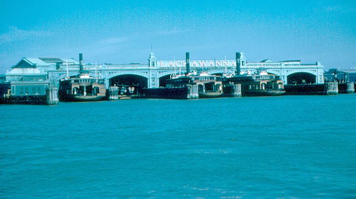 7. Hoboken Ferry Terminal , 1954.