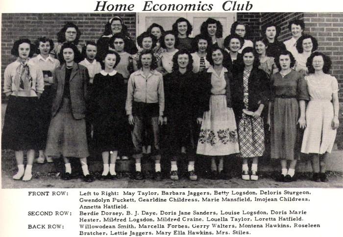 11. Home economics club