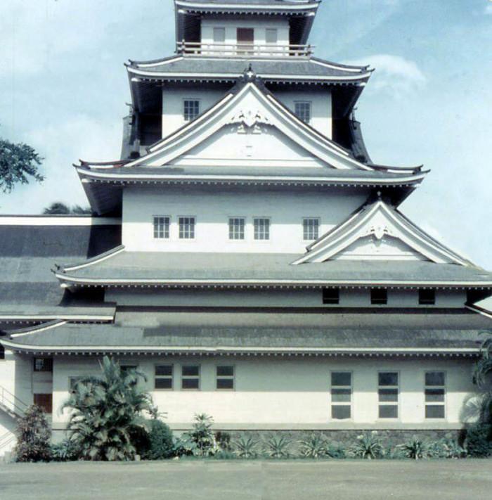 5) Honolulu's Makiki Christian Church as photographed in 1957.