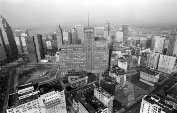 4) Hudson's flagship downtown Detroit store closing in 1983