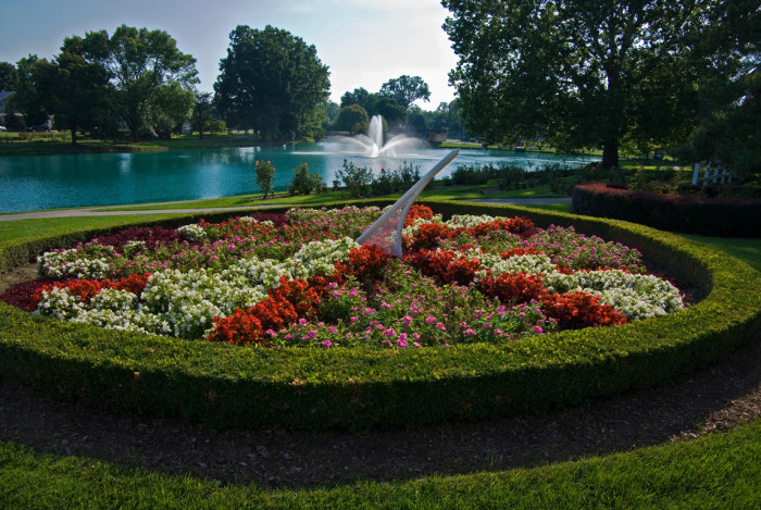 1. Lakeside Park and Rose Garden in Ft. Wayne, IN