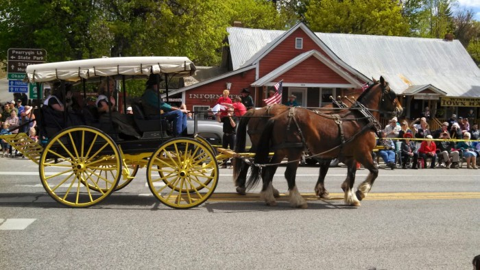 5. Some of the most delightful parades, festivals and events are held in our state's smaller towns.