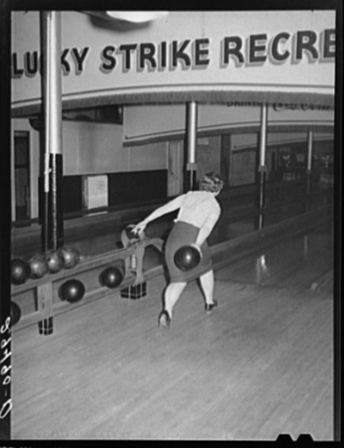 IN Girl Bowling
