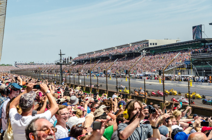 4. Everyone has been to the Indy 500 at least once. Right?