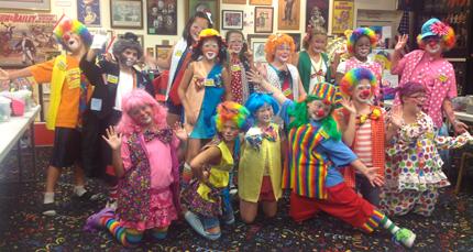 7. Clown around in Lake Placid.