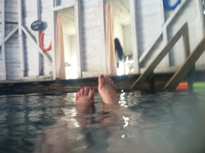 Jefferson Pools toes