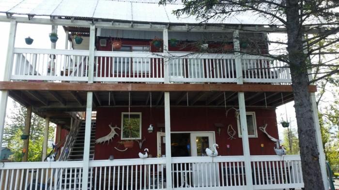 3) Le Barn Appetit Creperie & Inn in Seward