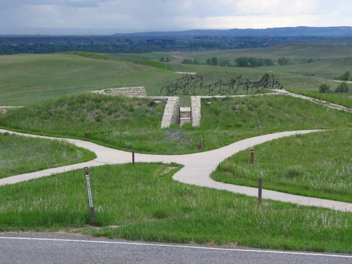 10.  Little Bighorn Battlefield