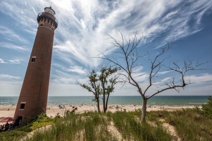 10) Little Sable Point Lighthouse