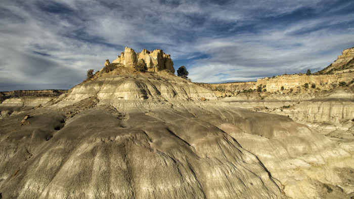 1. The Lybrook Badlands: Most people have never heard of the eerie rock formations found in this wilderness area, near Chaco Canyon.