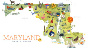 7 Maps Of Maryland That Are Just Too Perfect (And Hilarious)