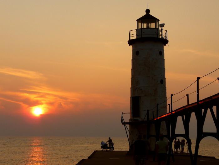 8) Manistee Lighthouse