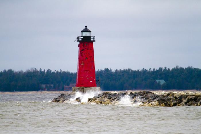 7) Manistique Lighthouse