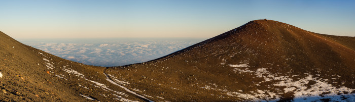 1) Mauna Kea measures in at 13,796 feet above sea level, the highest point in the state of Hawaii.