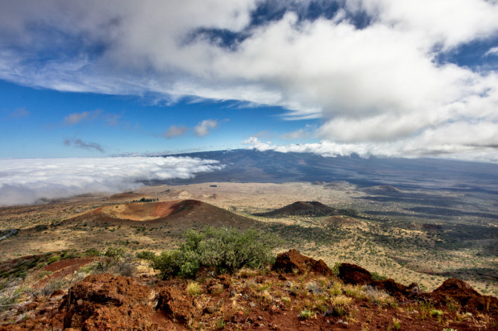 11) Mauna Kea is one of five shield volcanoes that make up Hawaii Island, the youngest island in the Hawaiian archipelago.