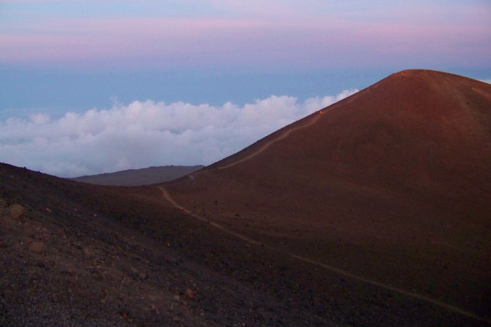 8) In Hawaiian mythology, the peaks of Hawaii Island are sacred, and Mauna Kea is considered to be the most sacred; an ancient law mandated that only high ranking ali'i could visit the summit.