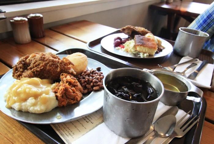 Michie Tavern Food