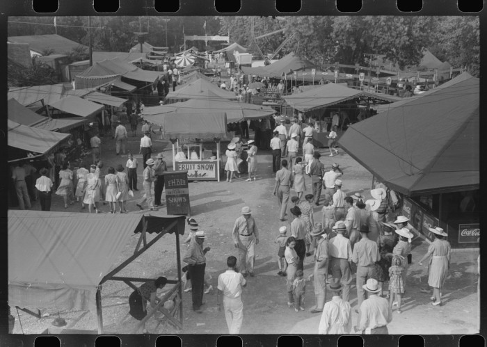 15. Midway at the carnival