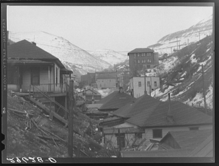 16. Miners' Homes in Bingham Canyon.