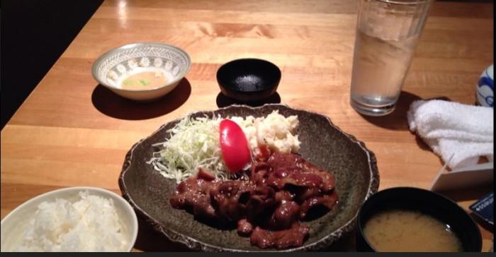 Miyoshi Japanese Restaurant food.