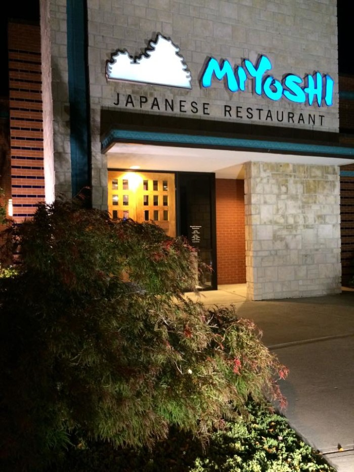 8. Miyoshi Japanese Restaurant
