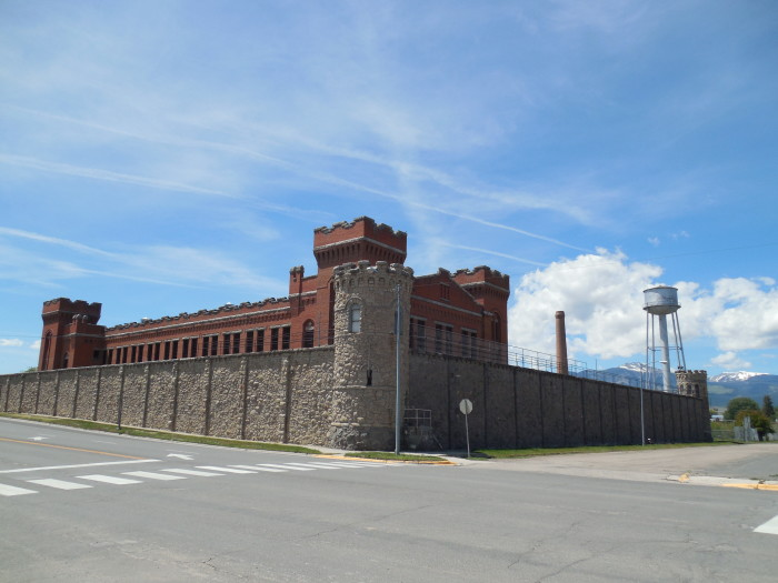 1. Montana Territorial Prison, Deer Lodge (Now the Old Prison Museum)