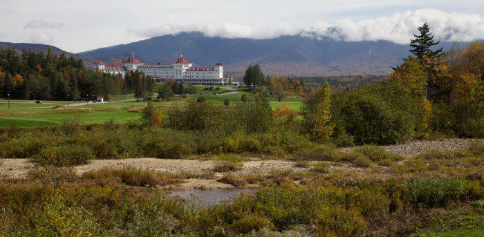 15. The charming Mount Washington Hotel, Bretton Woods.