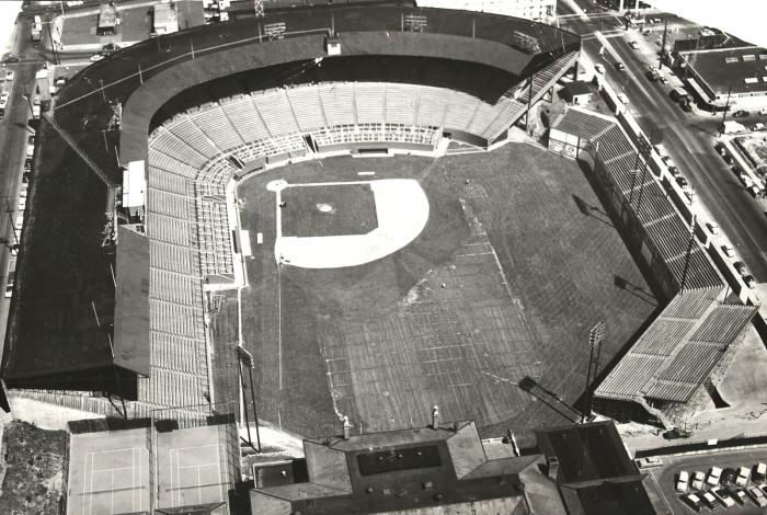 7. Multnomah Stadium (Now known as Providence Park) in Portland, 1956.