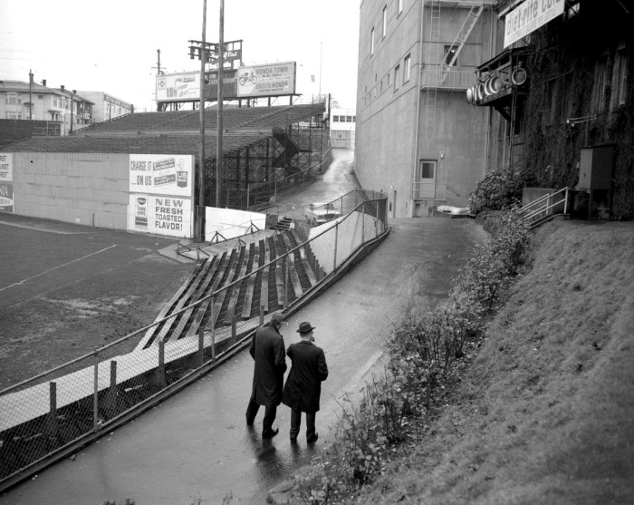 13. A stroll through Multnomah Stadium (now known as Providence Park), Portland, 1966.