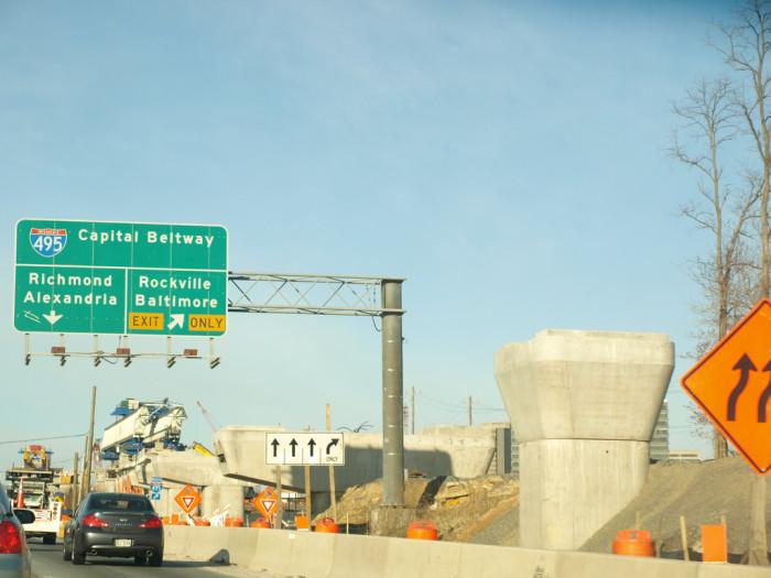 13. Road construction…oh, wait.